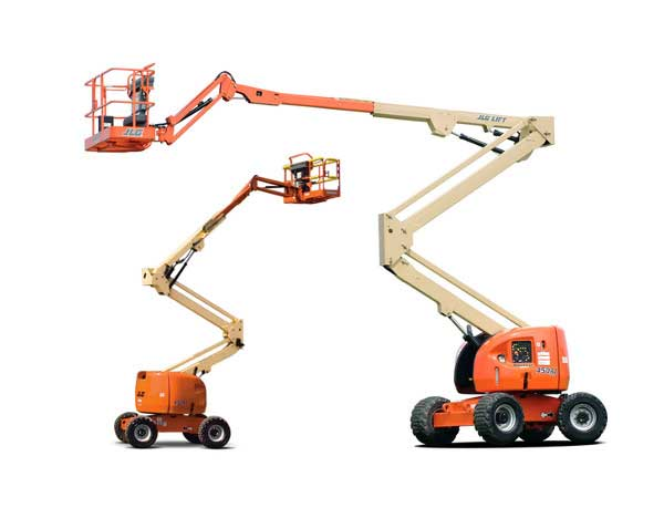 Articulating Boom Lift Rentals in Los Angeles County, Orange County, Riverside County, and San Bernardino County
