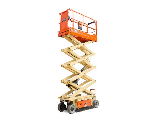 Electric Scissor Lift Rentals in Los Angeles County, Orange County, Riverside County, and San Bernardino County