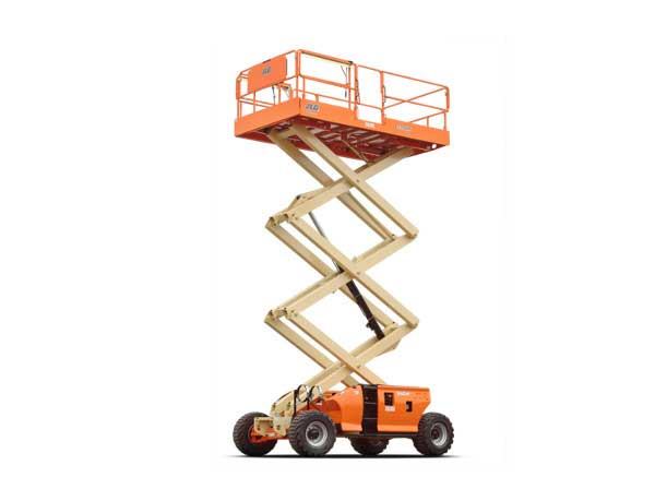 Rough Terrain Scissor Lift Rentals in Los Angeles County, Orange County, Riverside County, and San Bernardino County