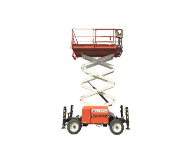 Where to find 27FT ROUGH TERRAIN SCISSOR LIFT in Los Angeles