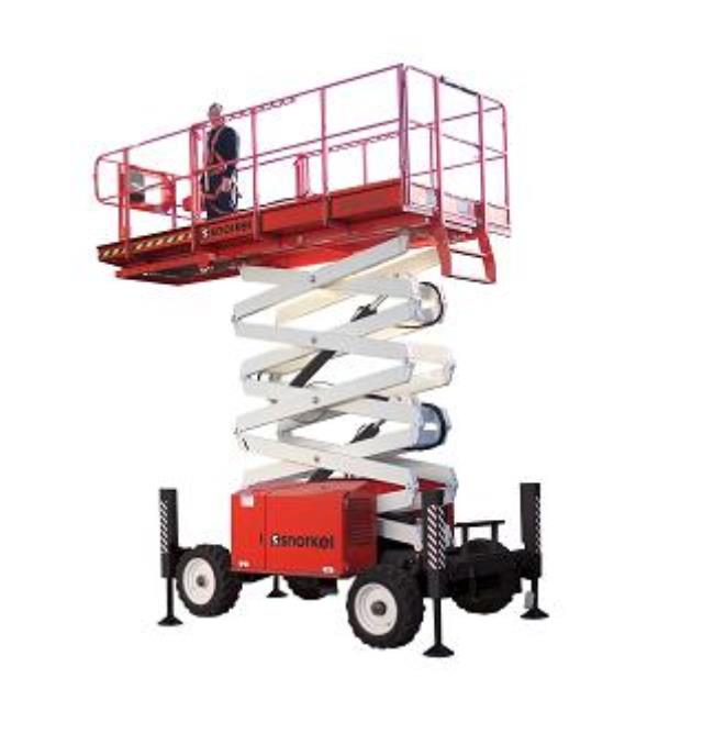 Where to find 33FT ROUGH TERRAIN SCISSOR LIFT in Los Angeles