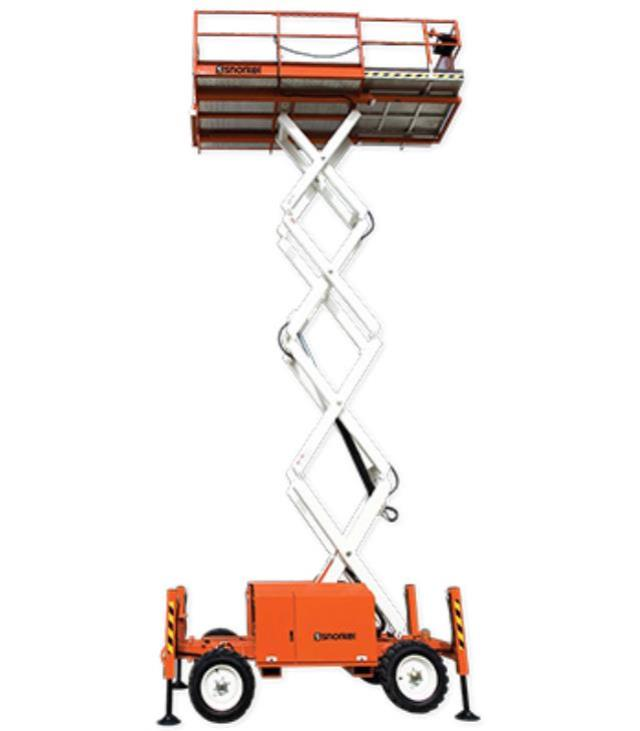 Where to find 39FT ROUGH TERRAIN SCISSOR LIFT in Los Angeles