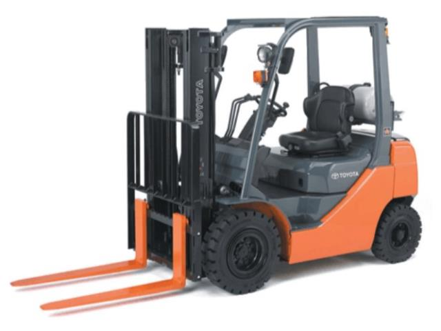 Where to find 5,000LB 15FT WAREHOUSE FORKLIFT in Los Angeles